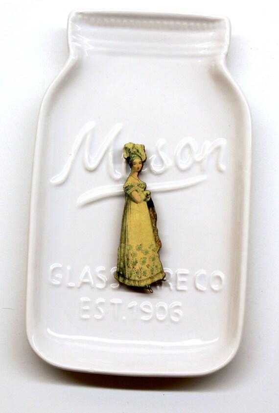 Victorian Lady #7 Needle Minder
