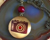 Take a Picture, Keep a Picture Locket Necklace