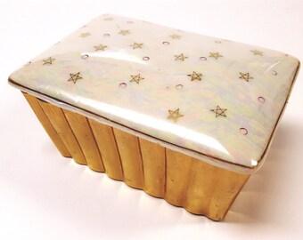 Adorable Mid Century Nasco Del Coronado Trinket/Jewelry Lidded Box