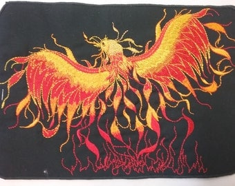Phoenix Back Patch