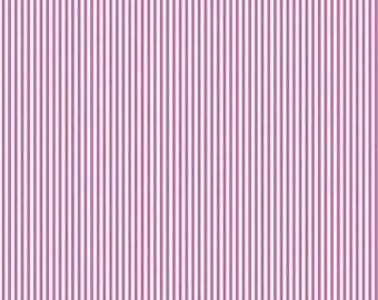 END of BOLT ~~ 14 inches ~~ Splendor Lila Tueller Riley Blake Fabrics Sale Purple Stripe