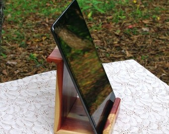 "Th BlackWater ""IPSII"" - Eastern Red Cedar Ipad Stand - New Design"