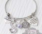 Sister in law Bracelet, Sisters by Marriage Friends by Choice, Sister in law Wedding Gift, Personalized Bangle- Sister in Law Gift, Friend