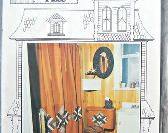 The Patchwork Potty Pattern, by Calico Decor from That Patchwork Place, Vintage 1970's