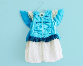 Magic fairy dress for girls. Winx inspired fairy costume. Sizes from 2 to 7 years. Made to order.