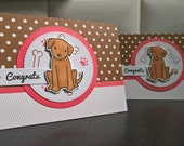 New Puppy Card, New Dog Card, Congratulations on Your New Puppy Card, Dog Lover Card, New Dog Parents, Congratulations Dog