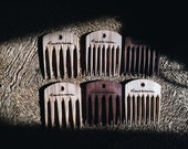 Wooden Comb - A Product of Tumblehome - Walnut Comb - Ash Comb -Hand Carved Combs