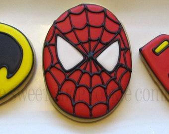 Action Hero cookies 3 dozen