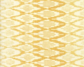 Spellbound Ikat in Sunset Yellow Vanilla Sky,  Urban Chiks, 100% Cotton, Moda Fabrics, 31116 13