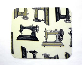 Mouse Pad -  Vintage Sewing machines