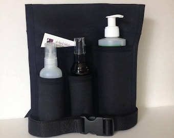 Made to Order - 4 Pocket EVERYTHING Massage Holster, ANY Color with belt