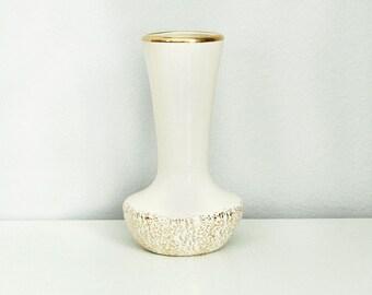 Vintage Gold Porcelain Vase
