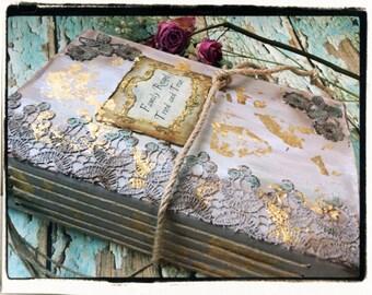 Recipe book handmade journal