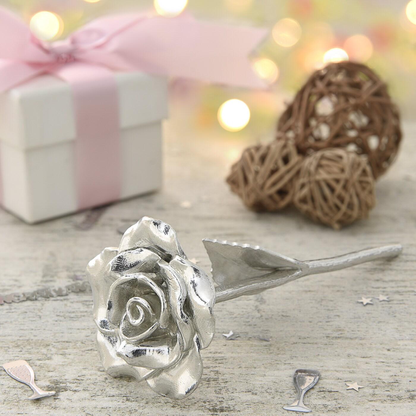 9th Anniversary Gift Everlasting Rose 9 Year Anniversary