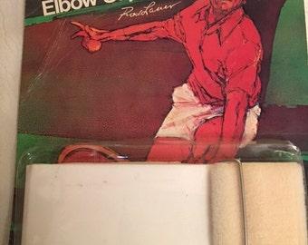 Rod Laver Elbow Support Pro Town Sportsotron, Inc Style 8000 Japan Vintage 1960s 1970s Tennis Pro Gear Athlete Grand Slam professional