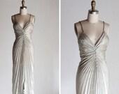 Vintage New Yaer's Promises Tornasol Dress