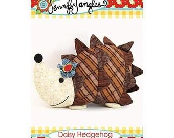 Daisy Hedgehog Soft Toy PATTERN by Jennifer Jangles, physical pattern not a pdf.  Hedgehog Plush Toy