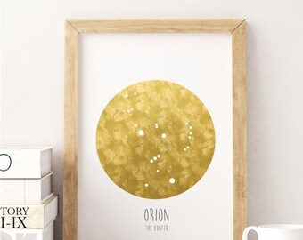 Orion - The Hunter - 8x10 DIGITAL PRINTABLE PDF