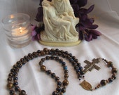Private Listing for DoraLisa Franciscan Crown Rosary with San Damiano Crucifix