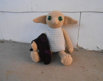 Dobby the House Elf - Harry Potter Plushie, Made to Order
