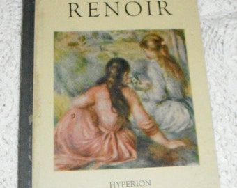 Vintage Masters in Art Renoir Hyperion Minatures Book 1948