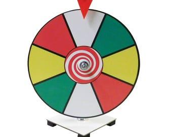 "12"" Prize Wheel / Carnival Game/ Office Game / Best Prize Wheel / Spin it game 12 inch Dry Erase Prize Wheel  Kid Safe Pegless Design"