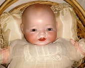 German Bisque Head Baby The Century Doll Company 12 Inch