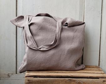Linen Bag, Hand Bag, Travel Bag, Shopping Bag, Large Bag, Grocery Bag, Tote Bag, Diaper Bag, Beach Bag, Canvas Bag, Large Tote