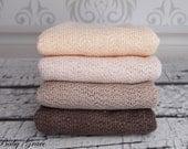 Newborn Wrap, Boho Stretch Knit Wrap, Newborn Photo Prop, Layering Fabric, Photography Props, Wrap Natural Colors, Stretch Knit Fabric