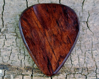 Honduran Rosewood - Wooden Guitar Pick - Wood Guitar Pick