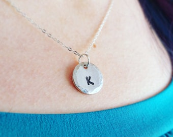 Initial Necklace for Women, Letter Necklace, Bridesmaid Gift, Girlfriend Jewelry Idea, Custom Initial, Personalized Jewelry, Dainty Letter
