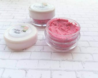 Pink blush, pink makeup, creamy blush, rose pink blush,  bridal make up,wedding make up,  handmade make up,Spring