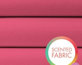 140173344 - Scented Solid Fabric - Geranium (Watermelon Scent)