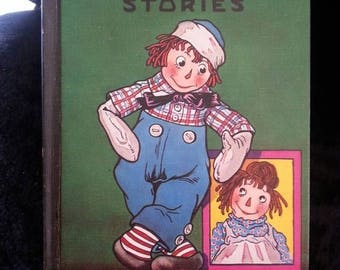 On Sale Vintage Raggedy Andy Stories Book Retro Collectible 1960's Childrens Stories