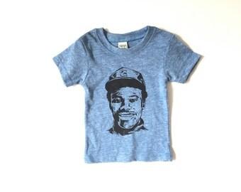 KEN GRIFFEY jr. Seattle MARINERS kids toddler baby newborn t-shirt major league baseball t-shirt triblend organic cotton