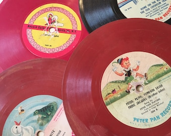 1950s Peter Pan Records plus one Christmas