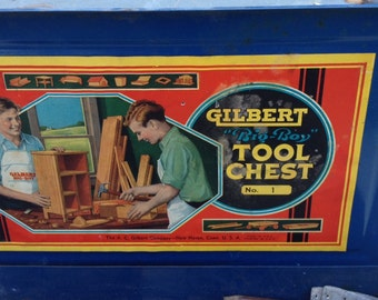 Gilbert tool box No 1 in blue