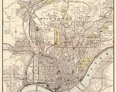 Cincinnati map - Special listing for C