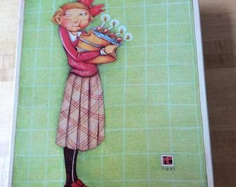 Vintage Mary engelbreit tin birthday
