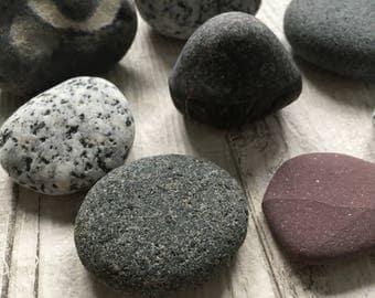 Natural Beach Pebbles  - Decorative Beach Decor/GP-0647