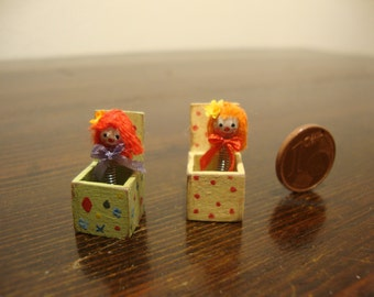 miniature for dollhouse Surprise game
