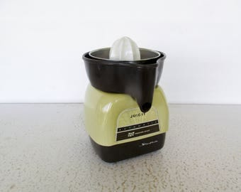Juicer Excellent Vintage Electric Reamer Automatic Proctor Silex Juicit Barware