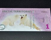 Artic Banknote uncirculated Very Rare