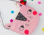 Cat Handbag / Purse Pink