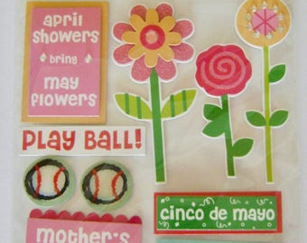 "Soft Spoken - ""May"" Dimensional Embellishments Pack"