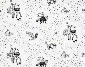Animals on White from Dear Stella's Adventure Awaits Collection