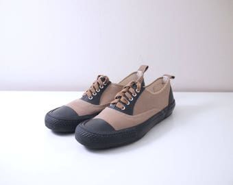 Vtg Comme des Garcons Homme Plus Taupe Lace Up Shoes/Sneakers Mens Japanese Size 25