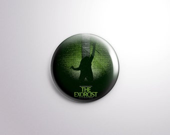 The Exorcist Pin Back Button - 1.25 Inch - Horror