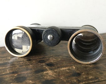 Vintage Binoculars, Occupied Japan Opera Glasses, Field Binoculars, Toko 2.5x