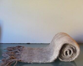 Vintage Alpaca Made in Bolivia Neck Scarf